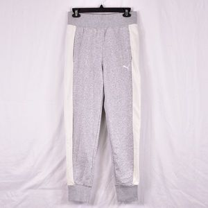 Puma French Terry Contrast Track Jogger Grey Pants